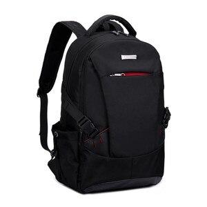 Image 4 - Uomini zaino sacchetti di scuola per i ragazzi di scuola zaino uomini borse da viaggio zaino sacchetti di spalla per i bambini bagback borsa del computer portatile nero 15.6