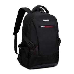 Image 4 - 男性バックパックの学校のバックパック旅行バッグ通学ショルダーバッグ子供のため bagback 黒のラップトップバッグ 15.6