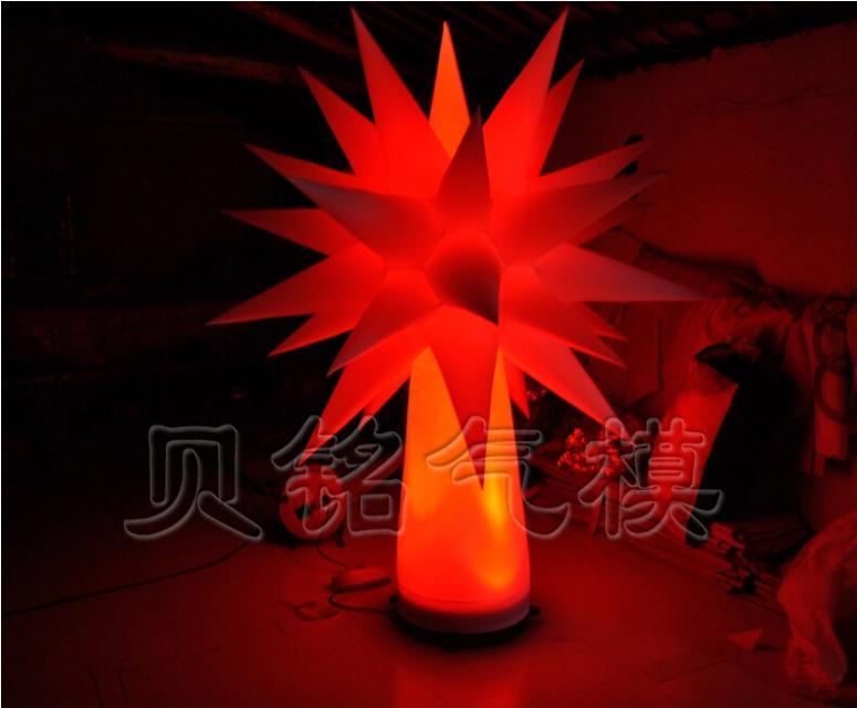 1.5M Custom LED Inflatable Lighting Tree, Decoration Star Tree, Can Custom