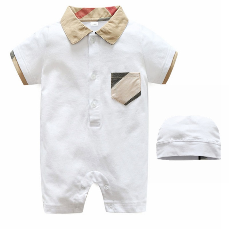 Children's wear Infant Rompers short sleeve Clothing  jumpsuit Newborn boy clothes Newborn Clothes