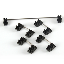 แผ่นติดตั้งสีดำเชอร์รี่ OEM Stabilizers CLEAR Satellite แกน 7U 6.25u 2U 6U สำหรับแป้นพิมพ์ Modifier คีย์