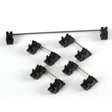 Płyta zamontowana czarna wiśnia OEM stabilizatory wyczyść oś satelitarna 7u 6.25u 2u 6u dla mechanicznych klawiszy modyfikujących klawiaturę