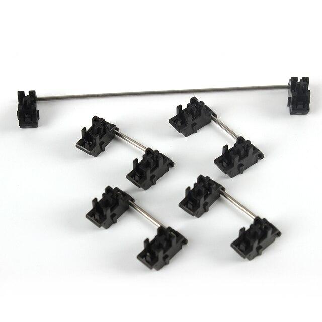 Plaat Gemonteerd Black Cherry Oem Stabilisatoren Clear Satelliet As 7u 6.25u 2u 6u Voor Mechanische Toetsenbord Modifier Keys
