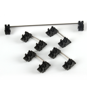 Plate mounted Black Cherry OEM Stabilizers Clear Satellite Axis 7u 6.25u 2u 6u For Mechanical Keyboard Modifier Keys(China)