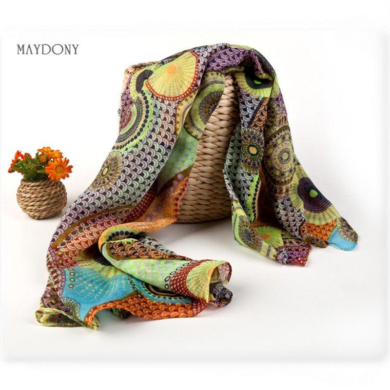 SJ8 Fashion beautiful Whale cotton Warm Soft scarves Retro Autumn Winter Wrap Scarf ...