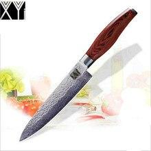 Damaststahl Küchenmesser 8 Zoll Kochmesser High Quality Mode Japanische VG10 Micarta Griff Fleischmesser