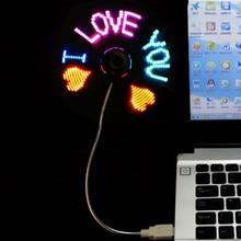 Mini USB Fan with led light