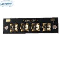 6565UV LED 40 Watts High-Power Violet 365nm 370nm 380nm 385nm 395nm 400nm 405nm 13*45mm Board Only 30V Driver