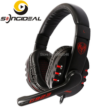 SONGIDEAL Stereo Sound PC Gaming Headsets Build in Microphone Wired Over Ear Headphones for Laptop Desktop Games XboxOne PS4(China)