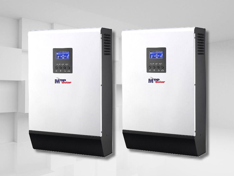 10kw Solar Inverter System 48vdc 230vac With Built In
