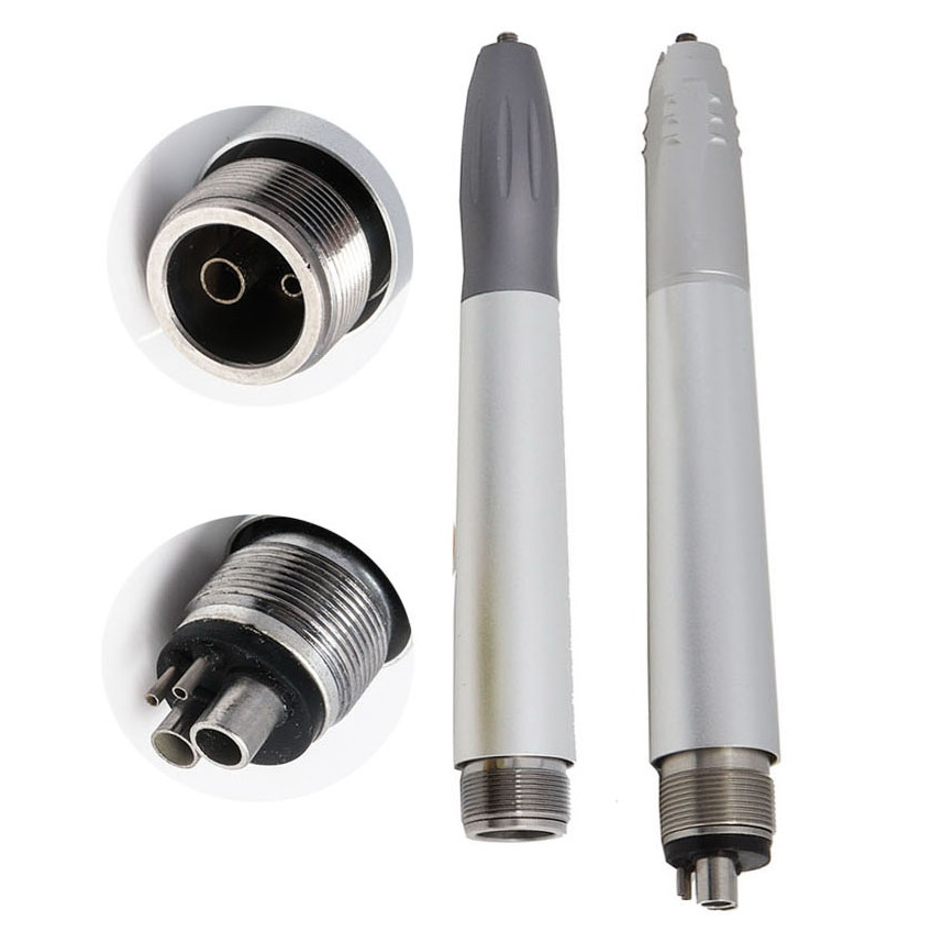Dental Ultrasonic Scaler Borden/Midwest 2/4Holes B2/M4 Scaler Handpiece With 3 Tips G1/G2/G3