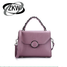 ZKW 2019 New Mini Bag First Layer Of Cowhide Luxury Handbag The Trend  Lady Genuine Leather Women Crossbody Bags