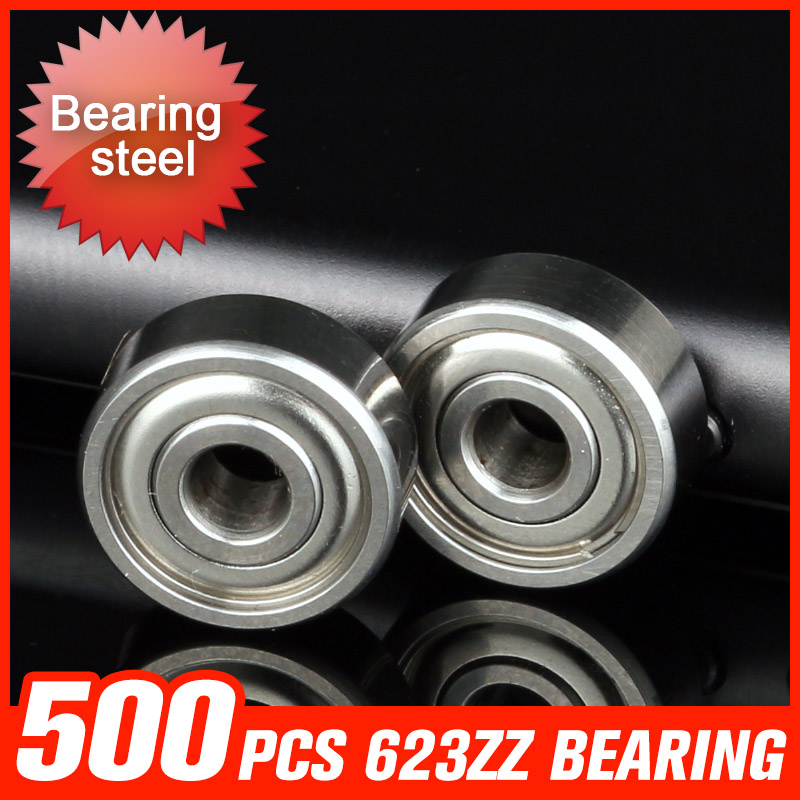500pcs 623ZZ Bearing10*3*4mm Bearing For Agricultural Machinery Parts Granulation Drying Equipment Hardware Tool Accessories фильтр для воды новая вода au020