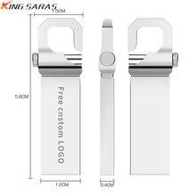 USB 2.0 pendrive metal Key usb flash drive 32GB pen drive 4GB 8GB 64GB 128GB mini waterproof flash disk 16GB Free print LOGO цена и фото