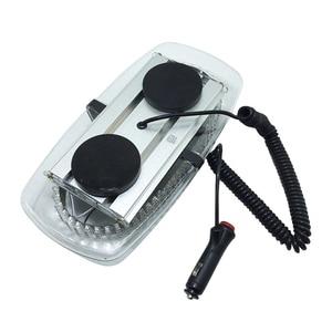 Image 5 - Mini stroboscope 12V 240 LED toit de voiture, lumière clignotant de sécurité pour les véhicules dapplication de la loi, avertissement durgence, balise