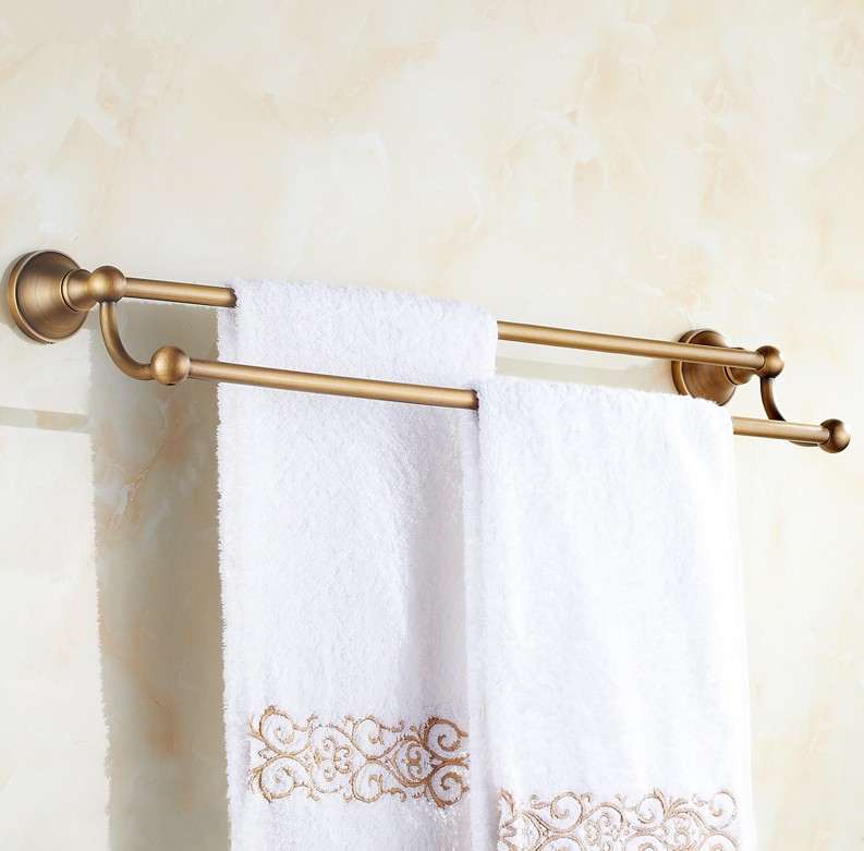 Bathroom accessories,Copper Material Antique brass Finish Single Towel Bar&Towel Rack/Fashion creative Design Bath Products brass material entrance lock antique brass antique copper coffe finish
