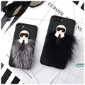 New  Karlito TPU Soft Case Lafayette Phone Cover for Apple iphone 7 7 Plus 6 6s 6plus Mr KarlLagerfeld Fur Skin Free ship