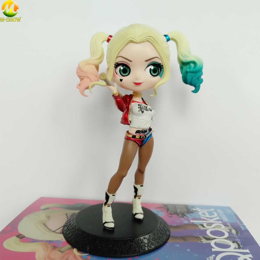Q Posket Harley Quinn Figures Toy Suicide Squad Joker Quinn Action Figure Doll Pvc Anime Figure Toys Children Gift Aliexpress