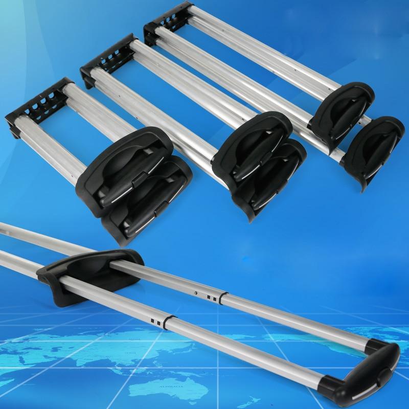 Чемодан, чемодан, Телескопическая Алюминиевая тележка, тяга, ручка, сумка, Запчасти и аксессуары, улучшенный, встроенный, тяга для ремонта багажа