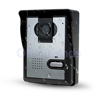Free Shipping Video Door Phone Intercom Video Door Bell Outdoor Unit RFID Door Access Control With