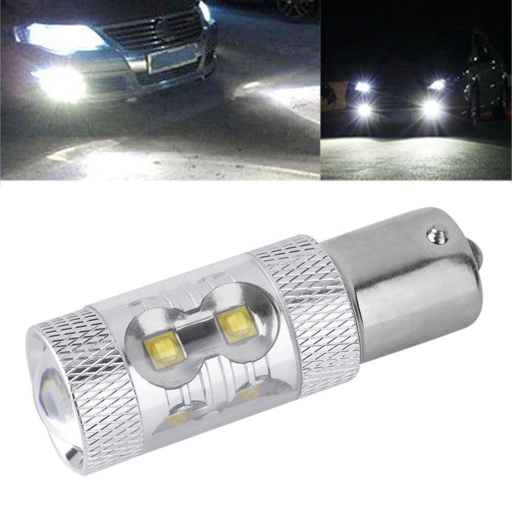 1x Hot Sale 50W 1156 S25 P21W BA15S LED Backup Light 12V 24V Car Reversing Light Bulb Car Lighting Parking Fog Light