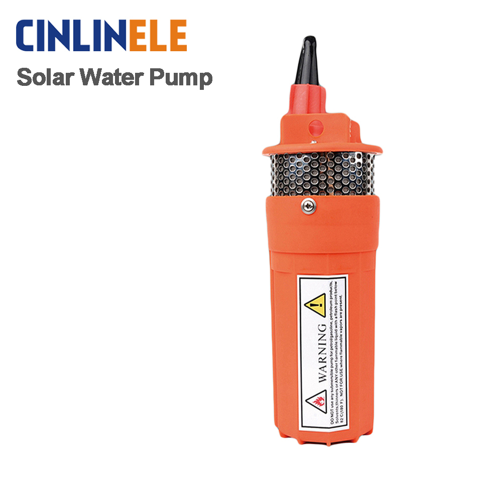 цены  DC 12V &DC 24V household Submersible well pump 360LPH 70M  Small Submersible Power Solar Water Pump For Outdoor Garden Deep Well