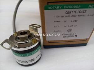 incremental rotary encoder IHC3808 001G 256BZ1 5 24C 256P/R Outter Dia 38mm Hole 8mm NPN|npn| |  -