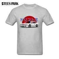 T Shirts Men Camisetas Silvia S13 Nissan 200SX Adult Organnic Cotton Short Sleeve Clothes For Sale Teenage Car T shirt Design