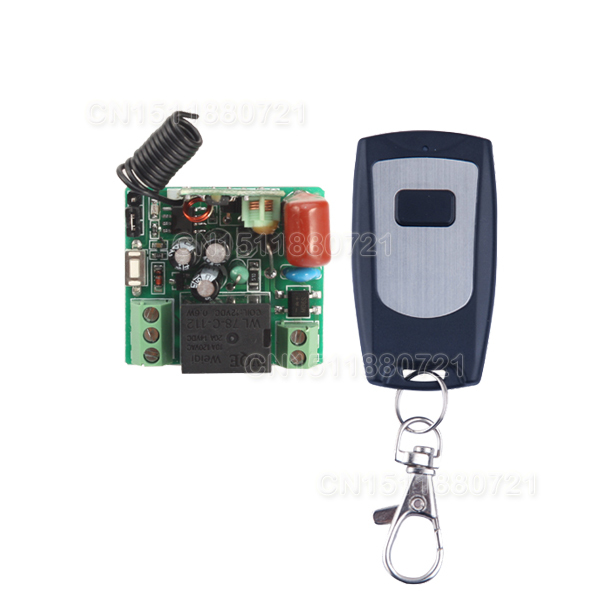 AC 220V 1 CH 10A Remote Control Switch Relay Receiver Transmitter LED Lamp Light Remote ON OFF Wireless Switch 315/433 RX TX hot 1 2 3 way 220v wireless remote control switch 190v 240v on off switches transmitter receiver module relay for lamp light