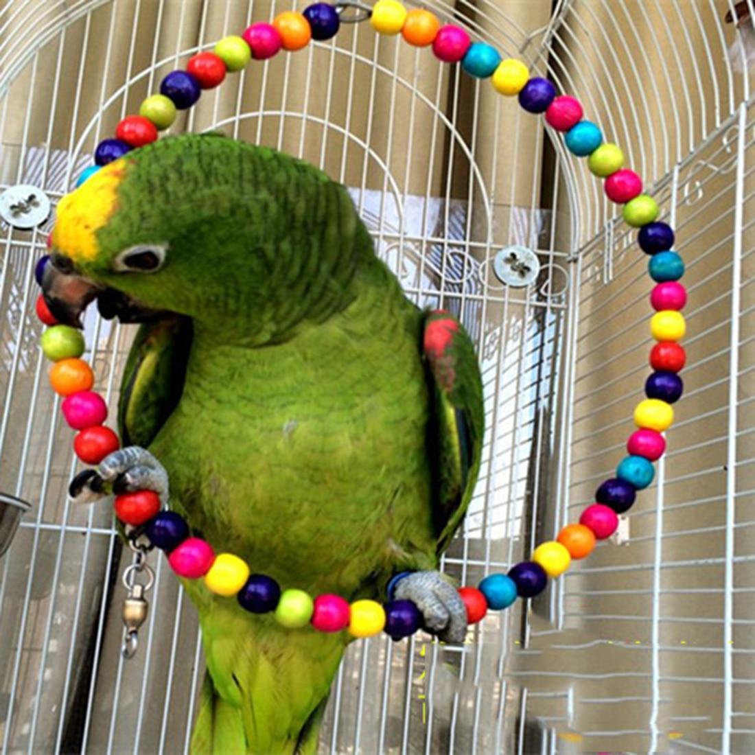 Petforu Papageienkäfig Spielzeug Stehen Seil Papagei Halter ...