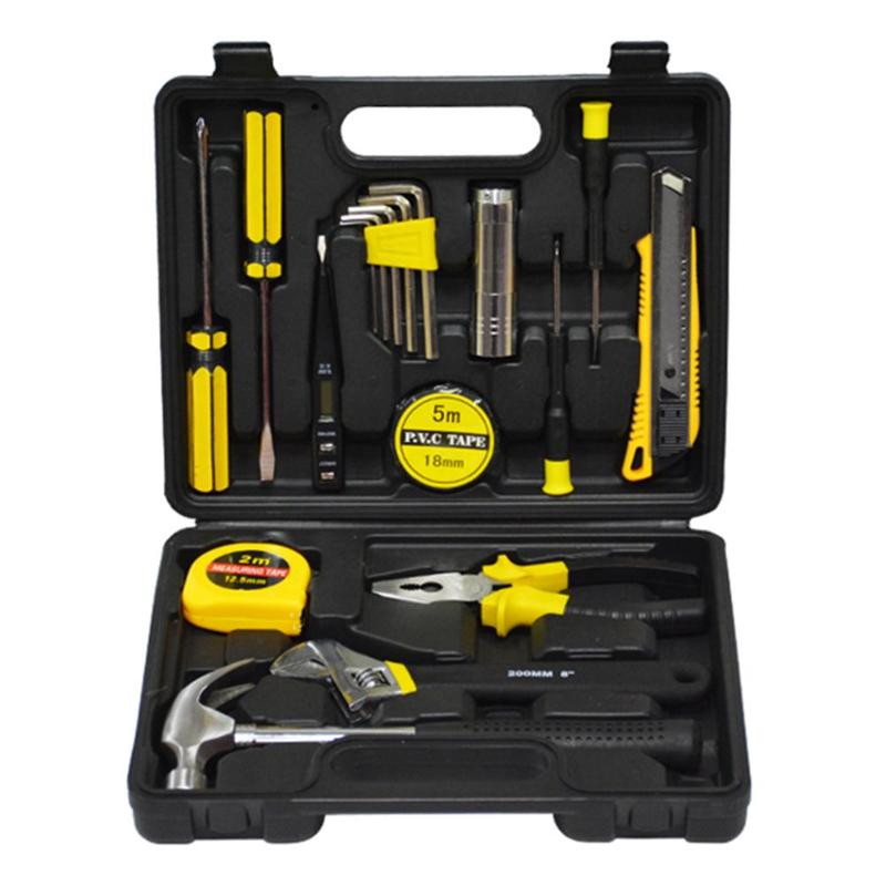 18pcs/set Precision Screwdrivers Pliers Hex Spanners Digital Electric Tester Hardware Combination Tool Kit For Home Tool Sets the most useful 82pcs home hardware tool kit kit set hot combination for home improvement diyer reliable partner at home
