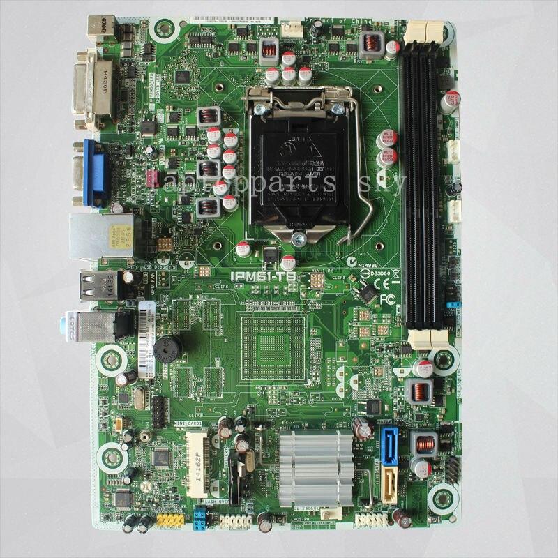 ФОТО Original motherboard For HP 110-023W 110-016D 110 motherboard 712291-001 717070-501 717070-601 IPM61-TB REV1.02 LGA1155 DDR3