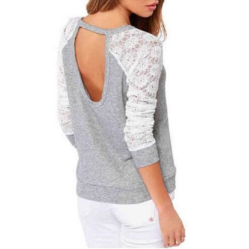 весна для женщин кофты осень спинки вышивка кружево повседневные толстовки женский свитер с длинными рукавами дышащая топы корректирующие женские