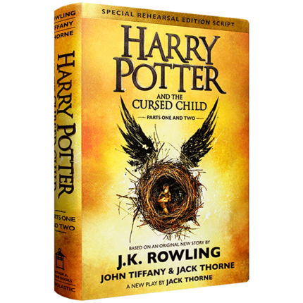 Harry Potter Book  And The Cursed Child, J.K. Rowling, English Kids Fiction Story Book English Books For Children