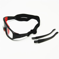 2 In 1 Basketball Glasses Optical Frame Detachable Legs Strap Protective Sports Goggles With Clear Lens