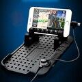 SHEATE cambiador de Coche Imán soporte de carga soporte para teléfono de Doble enchufe universal mobile soporte magnético Anti-deslizamiento organizador