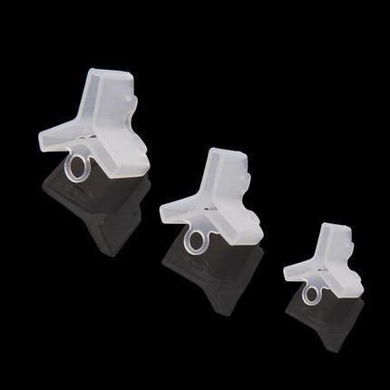 20 Pcs Plastic Dreg Protectors Covers Voor Vissen Lokt 5 Maten Houders Pak Voor Treble Size
