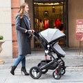Inverno alta paisagem carrinho de bebê pode ser sentado pode ser dobrado super luz à prova de explosão-rodas carrinho de bebê carrinho de bebê carro