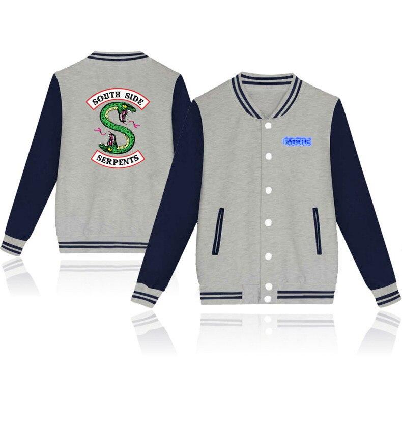 62e03c092 Detail Feedback Questions about 2018 New fashion hip hop south side serpents  Riverdale streetwear Riverdale SouthSide Baseball uniform Jacket on ...