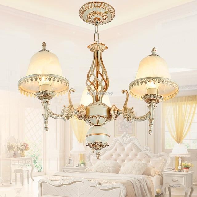 סגנון אירופאי 1/3/5 ראש מנורת בעל סגסוגת אבץ מנורה בסגנון אירופאית נברשת מלון בית מסעדה נברשות AC85-265V