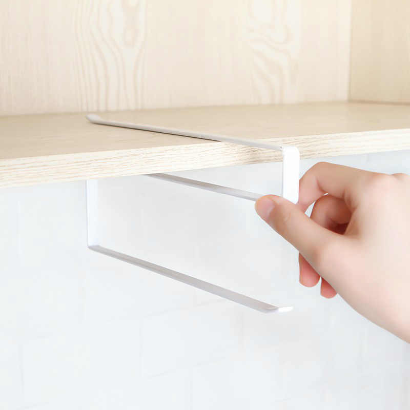 Кухня удобство набор из железного держателя салфеток висит Ванная комната Туалетная рулонная бумага держатель полотенец Кухня двери шкафа крюк Держатель