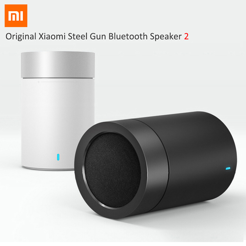2016 Original Xiaomi Mi Bluetooth 4.1 Speaker 2 Wireless Audio Speakers Support Hands-free Calls HiFi Hands Free Speakerphone все цены