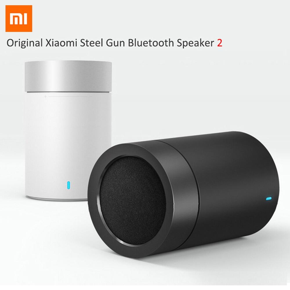 2016 Original Xiaomi Mi Bluetooth 4.1 Speaker 2 Wireless Audio Speakers Support Hands-free Calls HiFi Hands Free Speakerphone