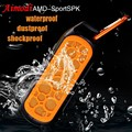 Aimodi Waterproof Outdoor Sport Bluetooth Speaker Wireless Stereo Portable Bike Speaker Hands-free For iPhone Samsung