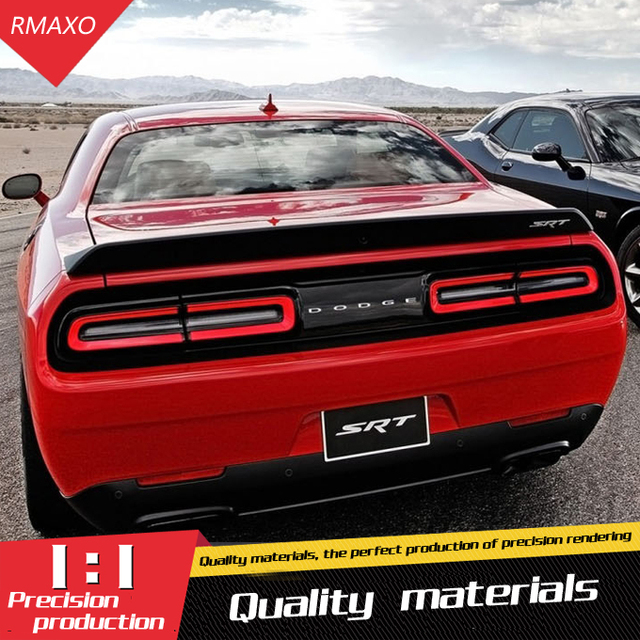 For Dodge Challenger Spoiler High Quality ABS Material Car