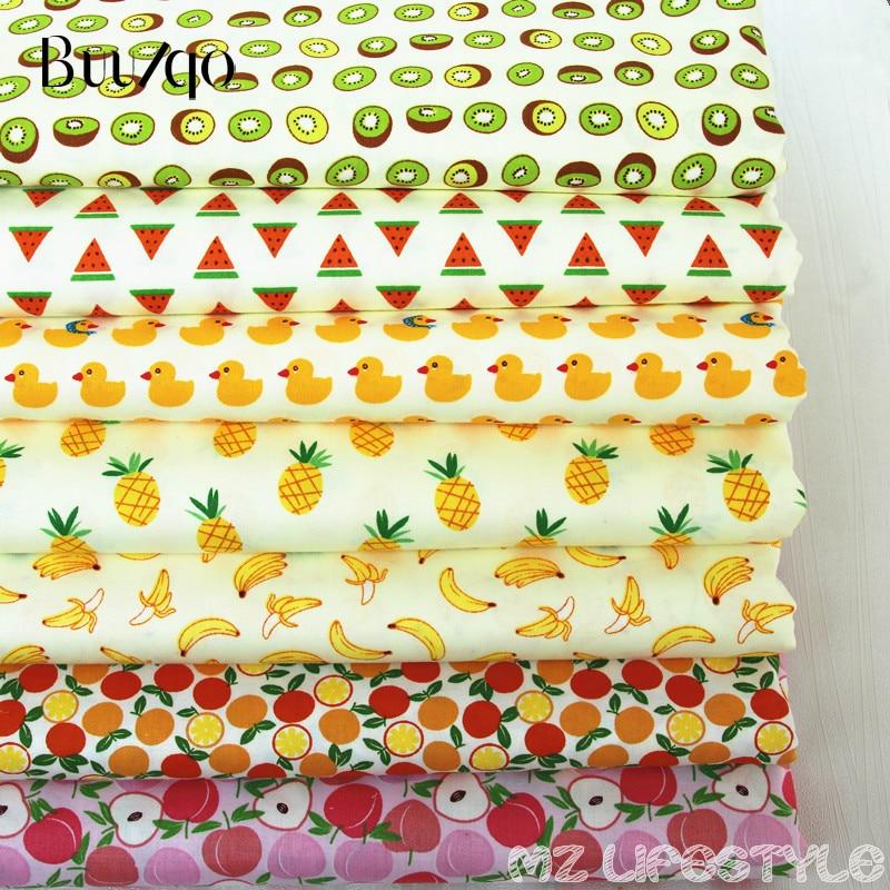 Buulqo 50cmX160cm fruit paradise patrón de dibujos animados 100% - Artes, artesanía y costura - foto 2