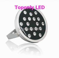 2016 Новинка высокое качество DC24V 48 Вт круглый prolight 4 в 1 RGBW светодиодные прожекторы лампы IP65 напольный проектор Освещение ce и rohs