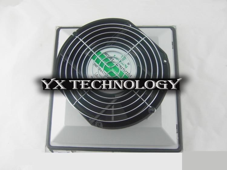 ФОТО Fan filters fan for control cabinet, electric control cabinet BA6625PB.230 Cabinet filters/seals 255*255*127mm