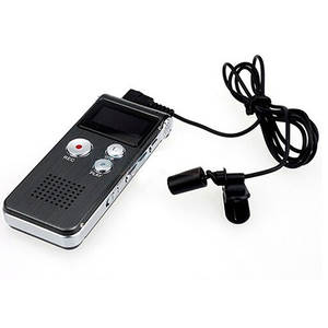 Pen Dictaphone Audio-Recorder Professional Mp3-Player 8GB