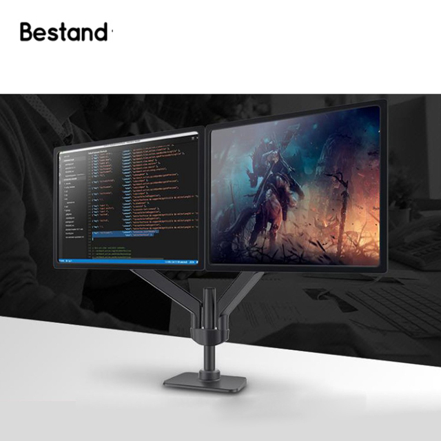 Bestand Dual Monitor Arm Mount Stand S2 For Lcd Led Computer Screen